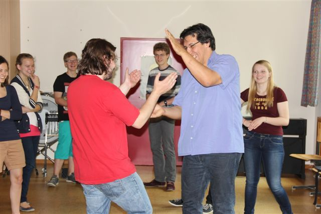 bodypercussion workshop gery feind interaktion