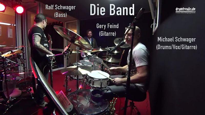 Drumworkshop mit Gitarrendozent Gery Feind