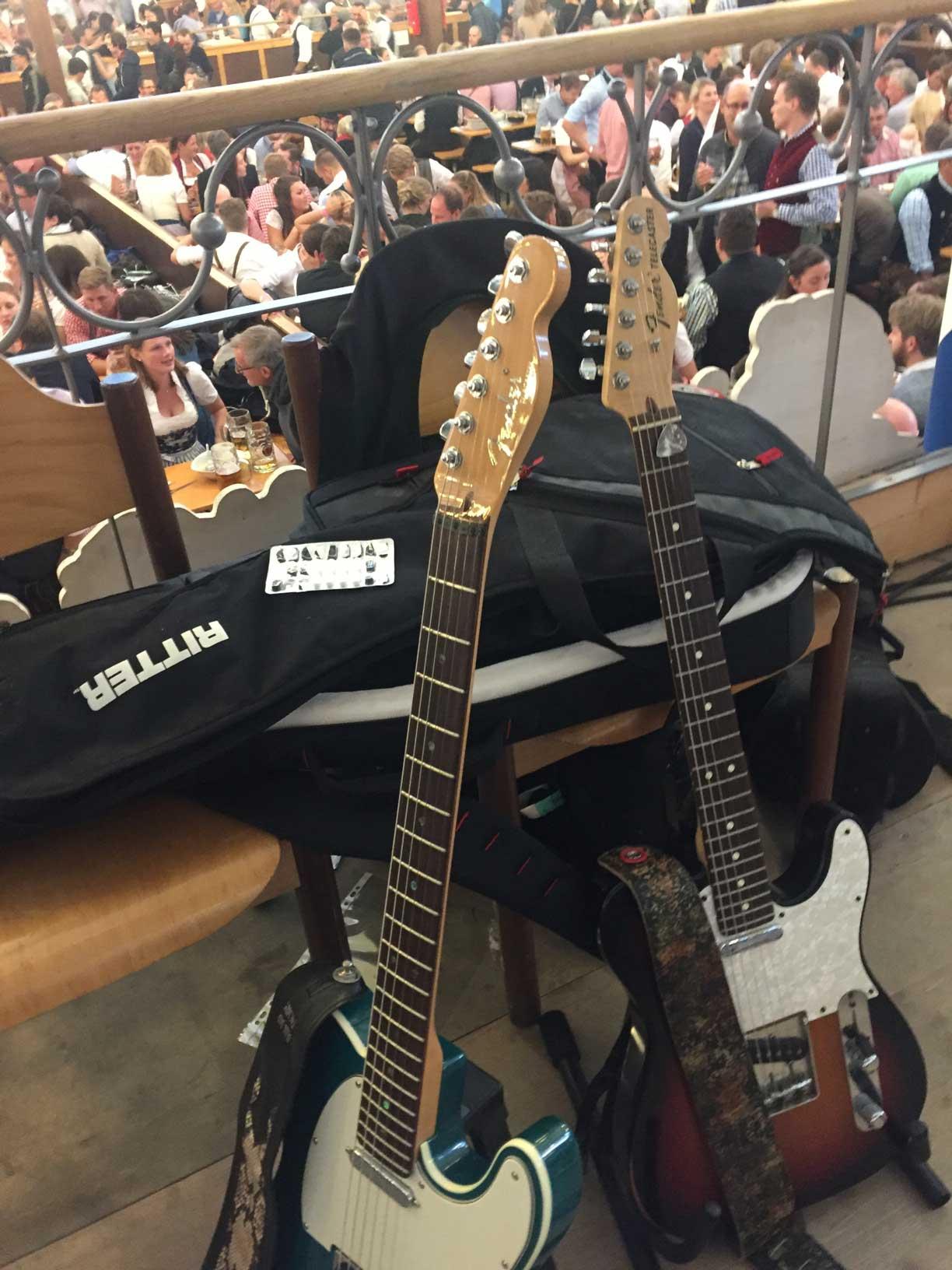 Gitarre im Herbst 2017