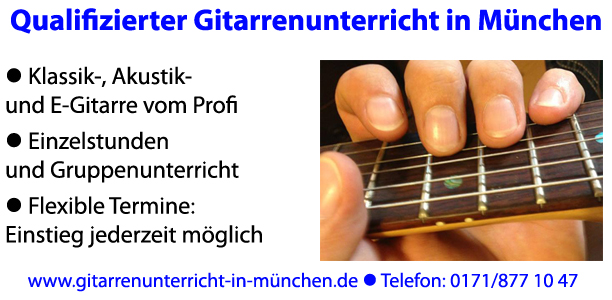 gerald feind gitarrist gitarrenunterricht in m nchen nord. Black Bedroom Furniture Sets. Home Design Ideas