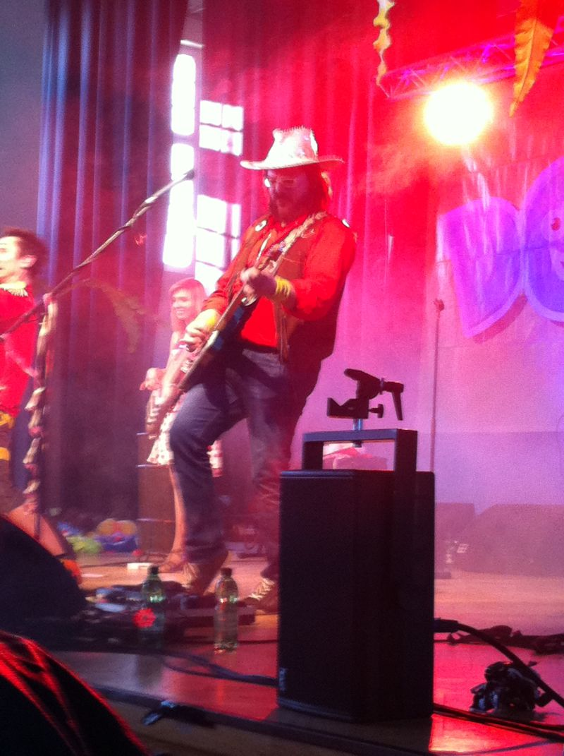 Cowboy Kört in Action